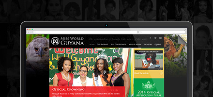 Launch of Miss World Guyana