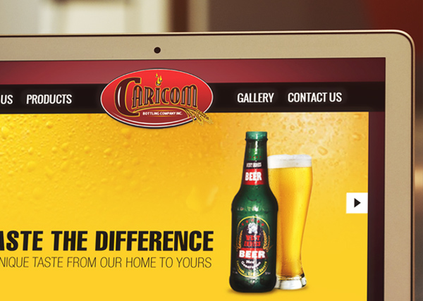 Caricom Bottling Design + Web