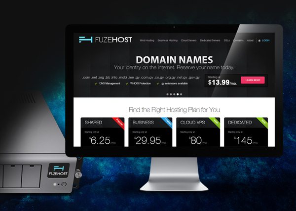 FuzeHost Website