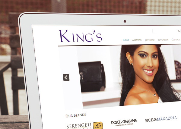Kings Jewellery World Website