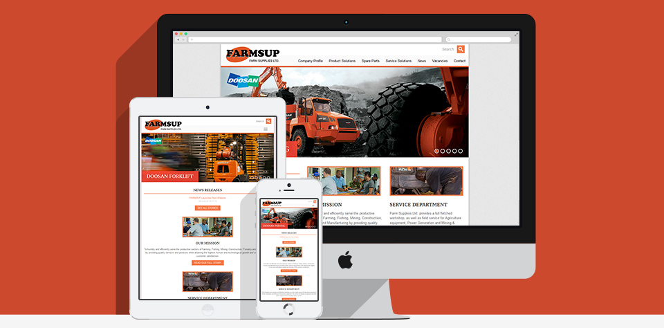 Farm Supplies Website